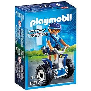 Playmobil City Action Policia Feminina com Segway Sunny 6877