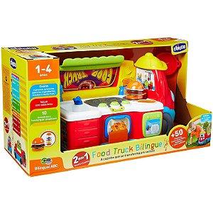 Brinquedo Infantil Food Truck Bilingue com Acessorios Chicco