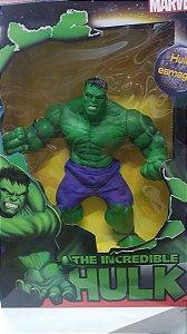 Boneco Novo Marvel Hulk Esmaga 47 Cm Original Mimo