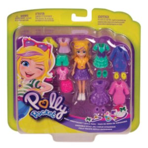 Polly Pocket Pronta para a Festa Polly Pack Queridinha Gft97