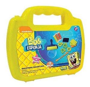 Massinha Modelar Bob Esponja Sponge Mini Maleta Sunny 447