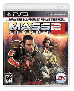 Jogo Mídia Física Mass Effect 2 Para Ps3 Original