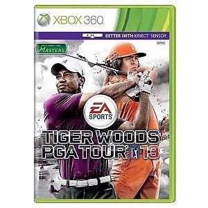 Jogo Novo Midia Fisica Tiger Woods Pga Tour 13 para Xbox 360