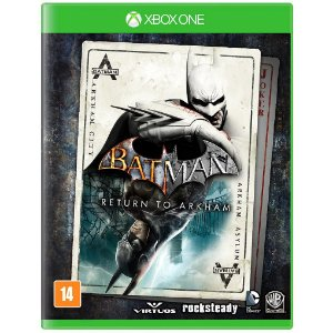 Jogo Novo Midia Fisica Batman Return to Arkham para Xbox One
