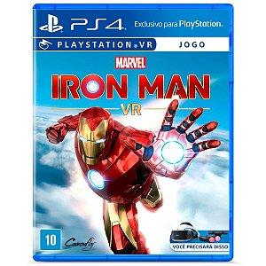 Jogo Novo Midia Fisica Marvel Iron Man VR Original para Ps4