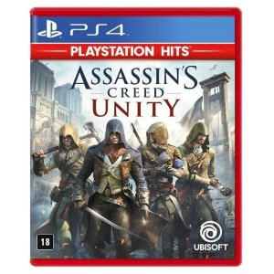 Jogo Midia Fisica Assassins Creed Unity Original para Ps4