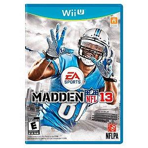 Jogo Midia Fisica EA Sports Madden Nfl 13 pra Nintendo Wii U
