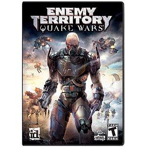 Jogo Midia Fisica Enemy Territory Quake Wars PC Computador