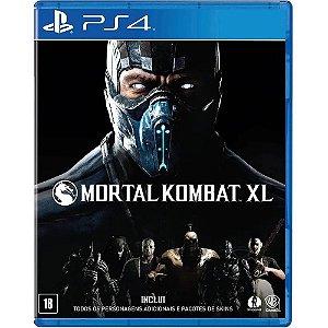 Jogo Midia Fisica Mortal Kombat XL Original Lacrado para Ps4