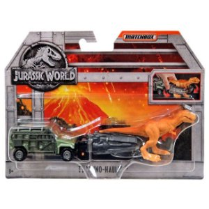 Jurassic World Veiculo Matchbox Tyranno-Hauler Mattel Fmy31