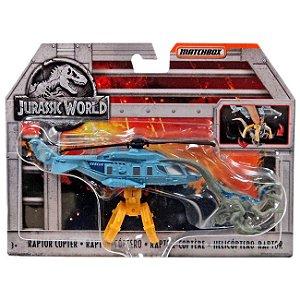 Jurassic World Veiculo Matchbox Raptor-Coptero Mattel Fmy31