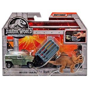 Jurassic World Veiculo Matchbox Tricera-Tracker Mattel Fmy31
