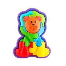 Quebra-cabeça Animal Puzzle 3D Leão Calesita 853 Tamanho:Úni