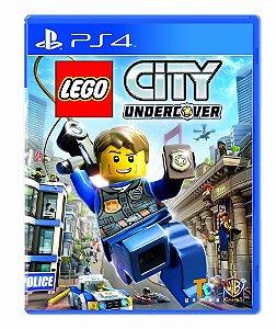 Jogo Mídia Física LEGO City Undercover Playstation 4 Ps4