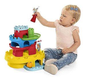Brinquedo Infantil Educativo Monta Castelo Tateti Calesita