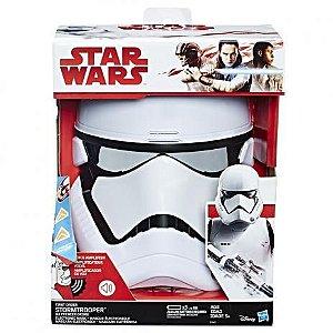 Brinquedo Máscara Eletrônica Star Wars Stormtrooper C1413