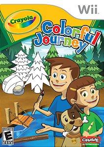 Jogo Novo Lacrado Crayola Colorful Journey Para Nintendo Wii