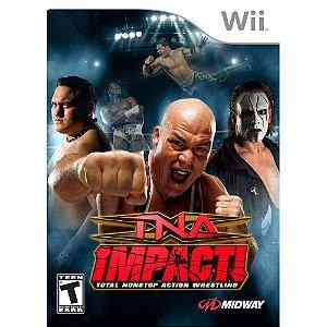 Jogo Lacrado Tna Impact Para Nintendo Wii