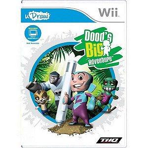 Jogo Udraw Doods Big Adventure Lacrado Para Nintendo Wii