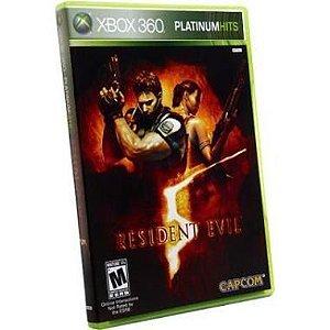 Jogo Recon Resident Evil 5 Platinum Hits Para Xbox 360