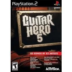 Jogo Original Lacrado Guitar Hero 5 Para Ps2 Playstation  2