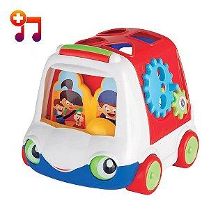 Brinquedo Infantil Ônibus Babybus Didático Com Som Mercotoys