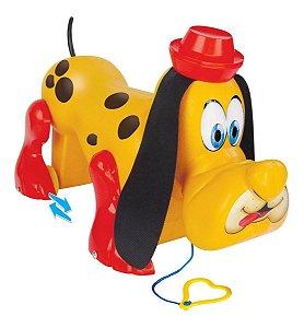 Brinquedo Cachorrinho Billy Dog De Puxar Mercotoys Xereta