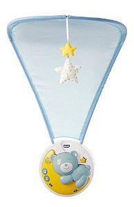 Móbile Berço Recem Nascido Bebe Next2moon 3 Em 1 Azul Chicco