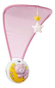 Móbile Berço Recem Nascido Bebe Chicco Next2moon 3 Em 1 Rosa