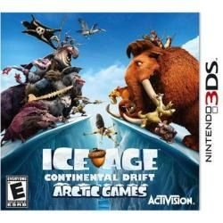 Jogo Ice Age Continental Drift Artic Games Era Do Gelo 3ds