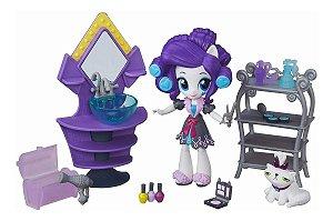 Brinquedo My Little Pony Equestria Girls Minis Rarity B6039