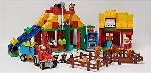 Lego Education Kit Escolar Grande Fazenda 154 Peças 45007