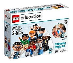 Lego Education Conjunto Pessoas da Comunidade 21 Peças 45010
