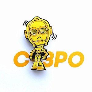 Decoração Infantil Luminária Star Wars C3po 3d Deco Light Fx