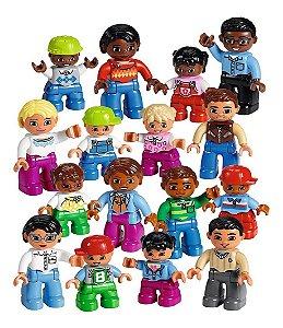 Lego Education Conjunto Pessoas do Mundo com 16 Peças 45011