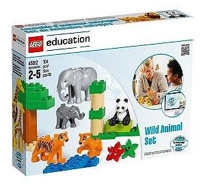 Lego Education Conjunto Animais Selvagens 104 Peças 45012