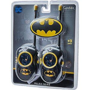Brinquedo Walkie Talkie Infantil DC Batman da Candide 9650