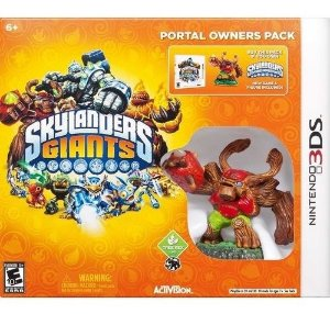 Box Lacrado Skylanders Giants Para Nintendo 3ds Jogo + Giant