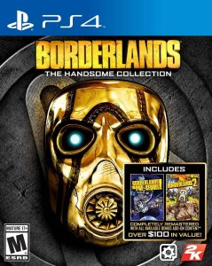 Jogo Novo Borderlands The Handsome Collection Para Ps4