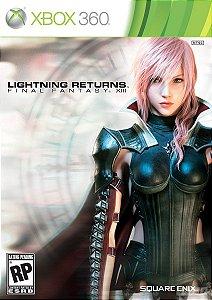Jogo Lacrado Lightning Returns Final Fantasy Xiii - Xbox 360