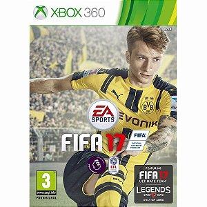 Jogo Mídia Física Fifa 17 Ea Sports Para Xbox 360