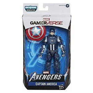 Boneco Marvel Legends Build a Figure Capitao America E7347