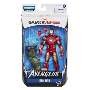 Boneco Marvel Legends Build a Figure Homem de Ferro E7347