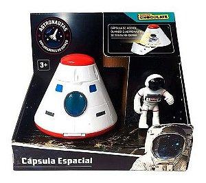 Brinquedo Nave Cápsula Espacial Com Astronautas  Fun F00241