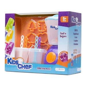 Brinquedo Kids Chef Sorveteria Picole da MultiKids BR110