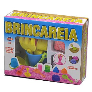 Massinha Brincareia Kit Areia de Brincar Sortida Toyng 38444