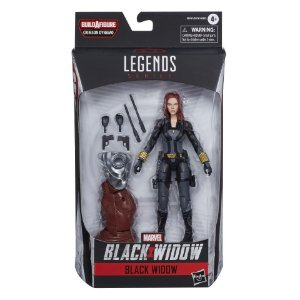 Boneco Marvel Legends Build a Figure Viuva Negra Ucm E8761