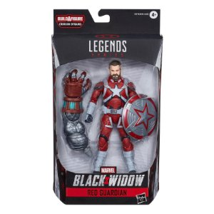 Boneco Marvel Legends Build a Figure Guardiao Vermelho E8761