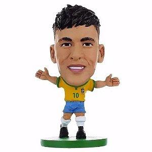 Brinquedo Boneco Mini Craques Soccerstarz Neymar Dtc