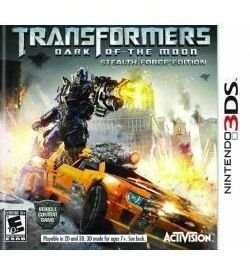 Jogo Lacrado Transformers Dark Of The Moon Para Nintendo 3ds